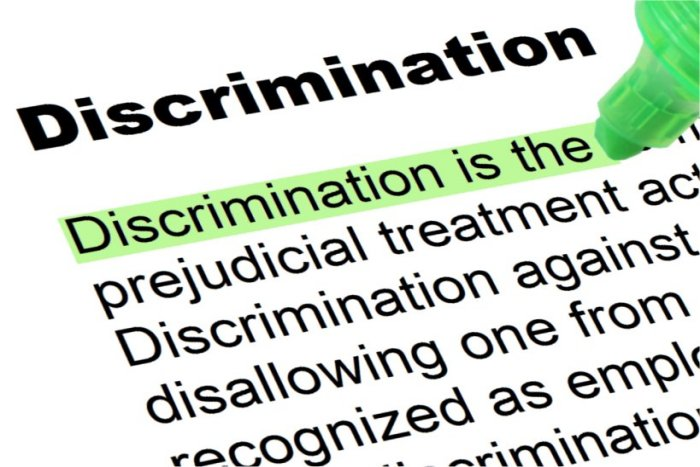 understanding discrimination Is that discrimination is a distinction discernment, the act of discriminating, discerning, distinguishing, noting or perceiving differences between things while understanding is (uncountable.